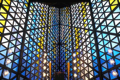 Innenraum der Universitaetskirche Kiel