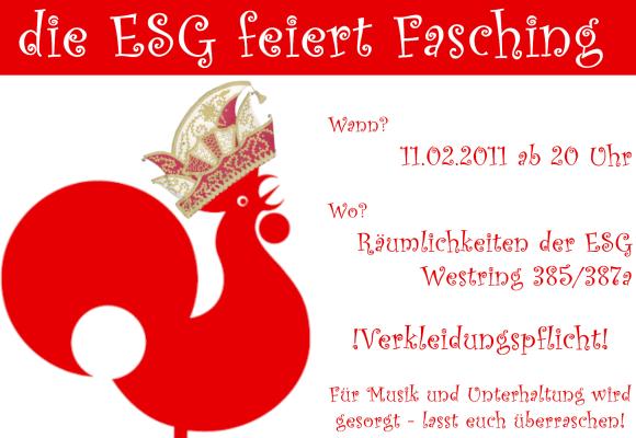 Fasching ESG