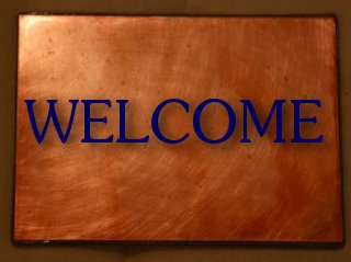 Welcome mat by cherrycrimson @Flickr