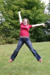 Johanna springt