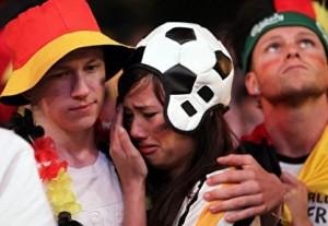 WM 2010 Fans Deutschland-Spanien 15